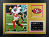 Patrick Willis Framed 8x10 San Francisco 49ers Photo (PW-P4B)