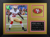 Patrick Willis Framed 8x10 San Francisco 49ers Photo (PW-P5B)