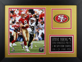 Steve Young Framed 8x10 San Francisco 49ers Photo (SY-P1B)