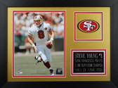 Steve Young Framed 8x10 San Francisco 49ers Photo (SY-P4B)
