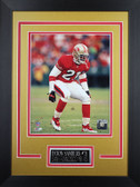 Deion Sanders Framed 8x10 San Francisco 49ers Photo (DS-P1D)