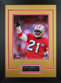 Deion Sanders Framed 8x10 San Francisco 49ers Photo (DS-P2D)