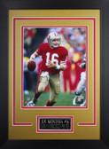 Joe Montana Framed 8x10 San Francisco 49ers Photo (JM-P1D)