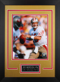 Joe Montana Framed 8x10 San Francisco 49ers Photo (JM-P3D)