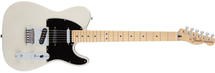 Fender Deluxe Nashville Telecaster in Gig Bag - White Blonde