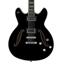 HAGSTROM Viking Deluxe Baritone Guitar  in Hard Case (BLACK)