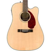 Fender CD-140SCE Acoustic/Electric Guitar with case