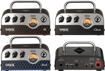 VOX MV50 Series Guitar Head Amplifier - Clean/AC/Rock