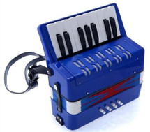 Junior Piano Accordion - Red/Blue