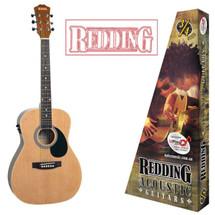 Redding 3/4 Size Acoustic/Electric Guitar - Natural/Sunburst
