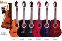 Valencia 100 Series 3/4 Size Classical Guitar - Assorted Colours