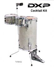 DXP Cocktail Drum Kit - Silver Sparkle