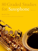 80 Graded Studies for Saxophone (Alto/Tenor) - Book 1