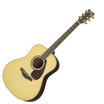 Yamaha LL6 Acoustic/Electric Guitar with Custom Gig Bag
