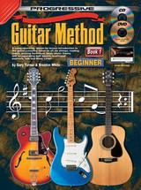 Progressive Guitar Method Book 1 CD/DVD - Beginner