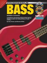 Progressive Bass Guitar Book CD/DVD