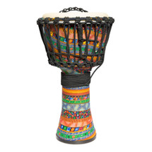 "Drumfire 8"" Synthetic Head Rope Djembe  in bag"