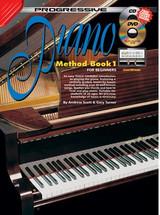 Progressive Piano Method Book 1 CD/DVD