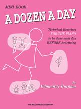 DOZEN A DAY  Mini Book - Piano Technical Workbook