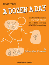 DOZEN A DAY Book 2 - Piano Tech Work book