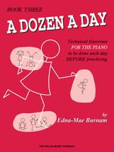 DOZEN A DAY Book 3 - Piano Tech Work book