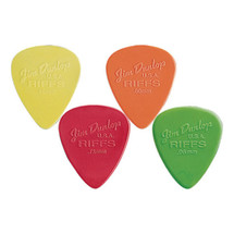 Jim Dunlop Riff Series Plectrums - 12 Pack