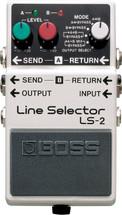 BOSS LS-2 Line Selector FX Pedal