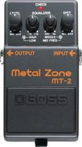 BOSS MT-2 Metal Zone FX Pedal
