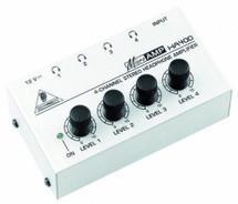 Behringer Microamp HA400 Headphone Amplifier