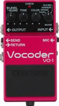 BOSS VO-1 Vocoder FX Pedal - NEW NAMM SHOW 2016