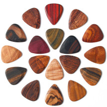 TIMBER TONE Wooden Guitar Plectrums