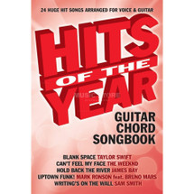 Hits of the Year - Guitar Chord Songbook