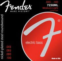 Fender 4 String Bass Strings - NPS Nickel Plated Steel