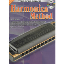Progressive Harmonica Method Book & CD