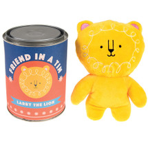 Larry The Lion Friend In A Tin