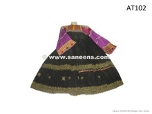 afghan kuchi clothes, vintage balochi dresses with mirrors embroidery