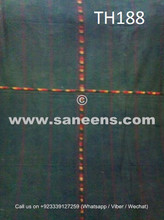 hand embroidered waziri shawl, traditional afghan tribal veils online