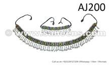 wholesale kuchi jewelry set, tribal fest belts and necklaces