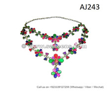 afghan kuchi handmade necklaces chokers