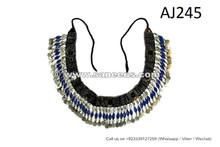 afghan kuchi belts with lapis stones