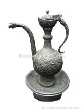 handmade silver aftaba