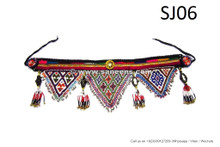 afghan kuchi handmade belt with lot of beadwork