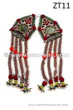 afghan kuchi tribal handmade tassels