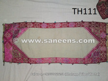 hand embroidered silk work pillow cushions online