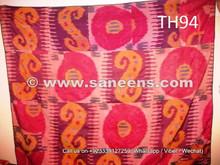 handmade pure silk ikat from uzbekistan