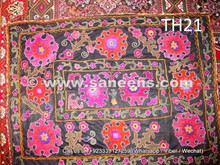 afghan nomad suzani, tribal artwork silk embroidery