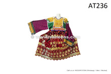 afghan kuchi ethnic frocks with lot of sequin work