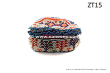 afghan kuchi full beaded cap hat