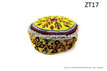 afghan kuchi handmade ethnic cap