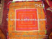 traditional silk work suzani katawaz, handmade tribal suzani pieces